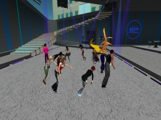Club Random, CSI:NY in SL