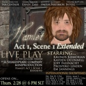 Hamlet Poster - Shakespeare in SL